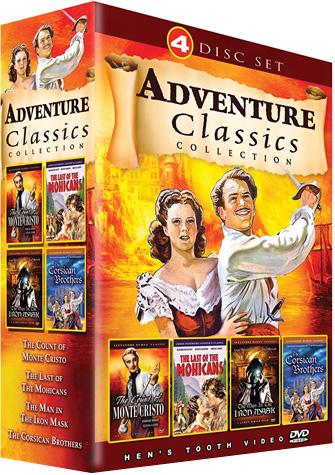 Adventure Classics 4 Disc Set