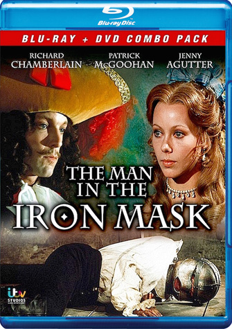 The Man In The Iron Mask (1976) Blu-Ray + DVD Combo Pack